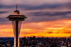 The weather in Seattle might be gloomy but your attitude will never be once you move there.