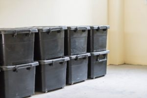 Plastic bins – relocation advantages