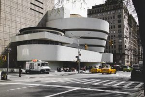 The Guggenheim Museum - one of the best museums in NYC.