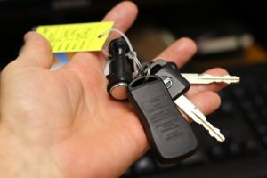 Find or Get Spare Keys before you ship your car