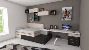 NYC apartment decoration idea - keep your furniture multipurpose.