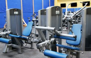 Complicated gym equipment