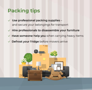 An overview of the best packing tips.