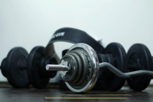 Move your gym equipment