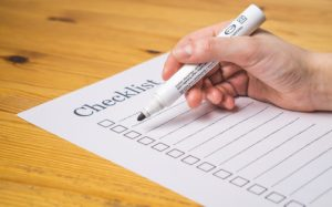 How to prepare an interstate moving checklist
