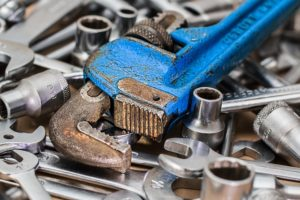 Small tools - think about them when you pack your garage for relocation.