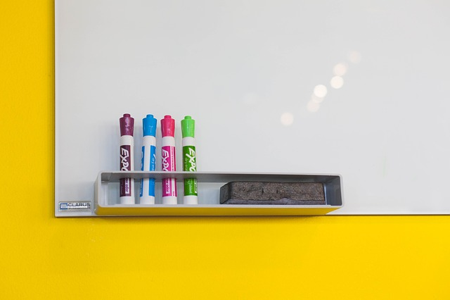 Use several colors for better organizing