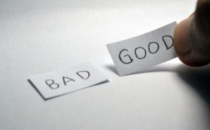 ''Good'' and ''bad'' pieces of paper