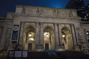 The NYC public library