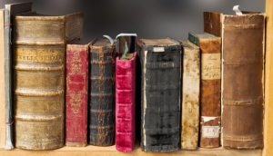 Consider finding an early edition book