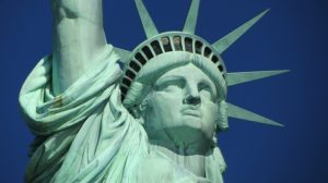 Lady Liberty has no instructions for your movers when moving to NYC