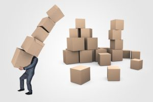 boxes - moving cross country while pregnant