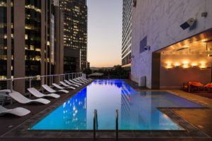 Rooftop bars in NYC with pools are very popular nowadays!