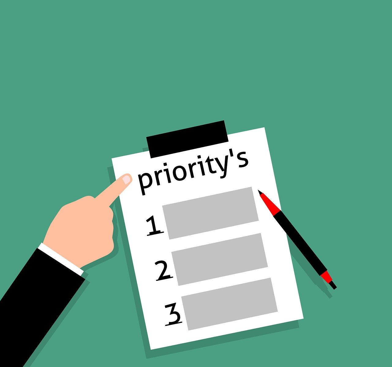 A priority list
