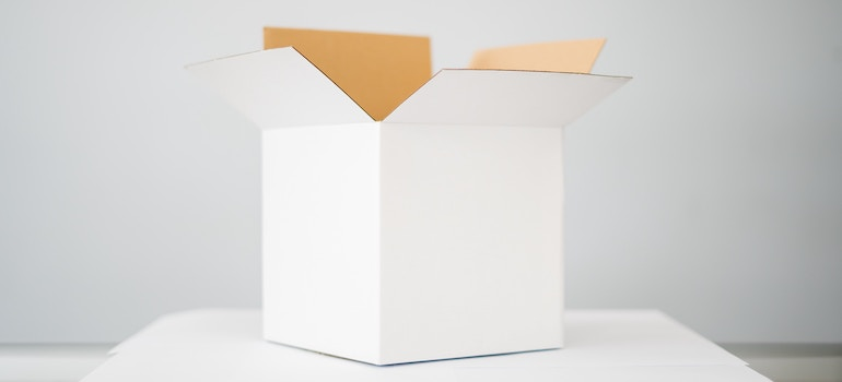 Pack your apartment overnight- a box