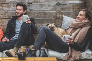 people smiling - pet adjust to your new NYC home