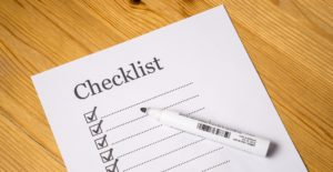 A moving checklist will keep you organized.