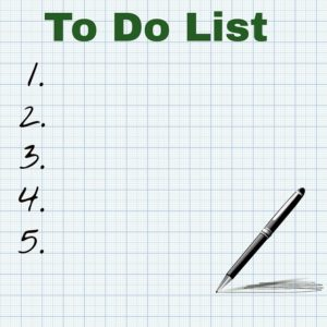 to-do list tht you need for your long-distance move