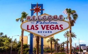 las vegas sign - Sunniest cities in the US