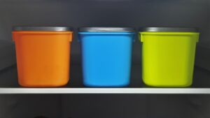 Containers of diffrent sizes