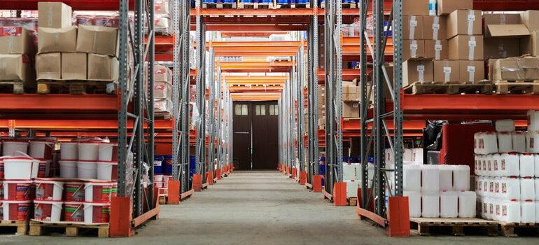 a commercial warehouse